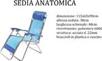 l.saona b. sedia anatomica 115x65x90
