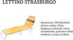 l.saona s. lettino strasburgo 188x55x24