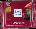 ritter fondente 50% cacao gr.100